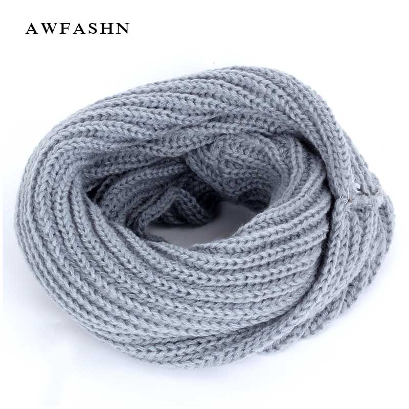 100% Quality 2018 Fashion Unisex Winter For Women Men Kids Baby Knitted Scarf Thickened Wool Collar Scarves Boys Girls Cotton Neck Scarf Fixing Prices According To Quality Of Products Girl's Scarves Girl's Accessories