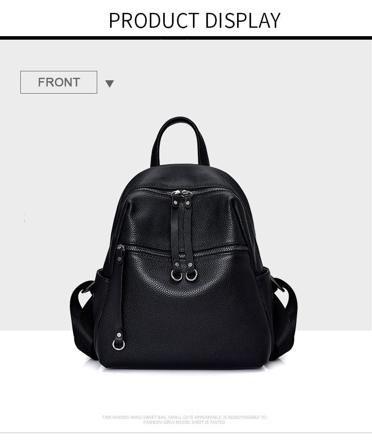 Sac à dos femme mode cuir affaires sac décontracté sauvage haut de gamme dames sac de vachette Design élégant Simple Style fille sac