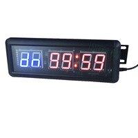 送料無料1.5 gymクロスフィットタイマーledインターバルタイマートレーニング時間と残り時間代替countdowncountアップとしてstopwatc
