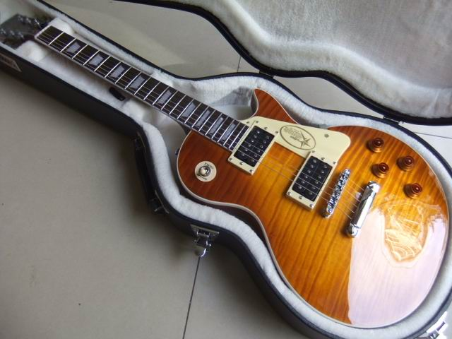 Free Hardcase LP Jimmy Page Signature Electric Guitar Solid Mahogany Body In Amber Honey Burst 101022 sitemap html page 10 page 3 page 10
