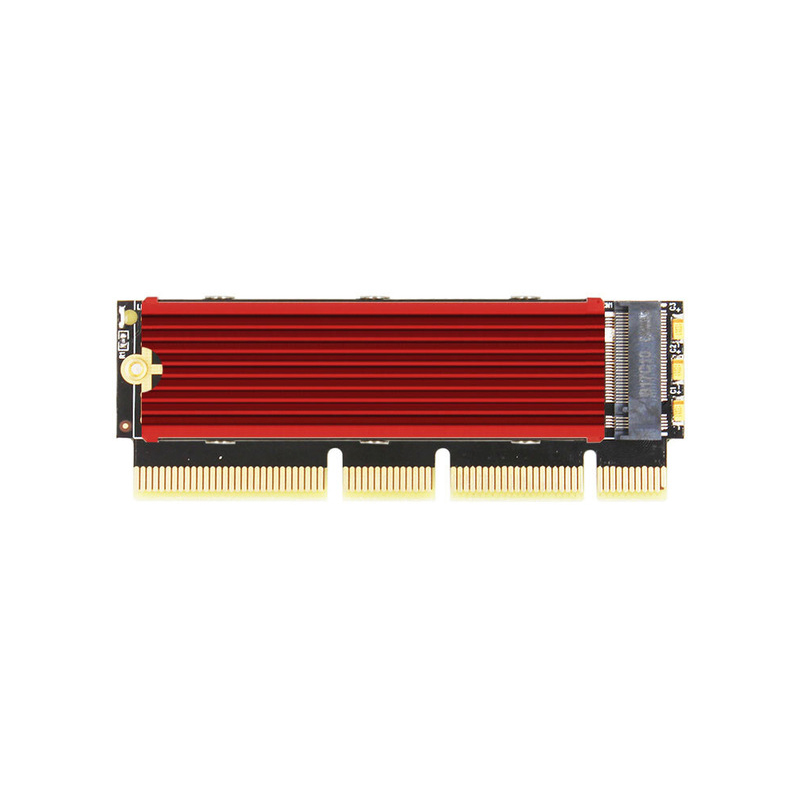 M.2 NVME SSD to PCI Express 3.0 Adapter Support PCI-E 3.0 x4 x8 x16 Slot