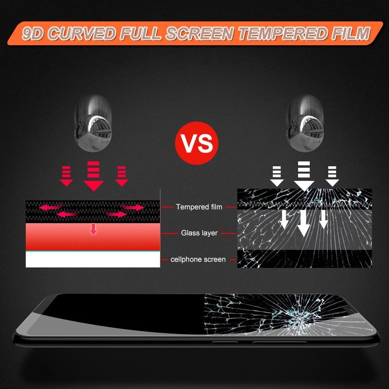 Image 4 - 3D полное покрытие из закаленного стекла для Meizu M6 M6S M6T M5 M5S M5C M5 Note M6 Note 8 9 16s 16 16 16 Защитная стеклянная пленка-in Защитные стёкла и плёнки from Мобильные телефоны и телекоммуникации
