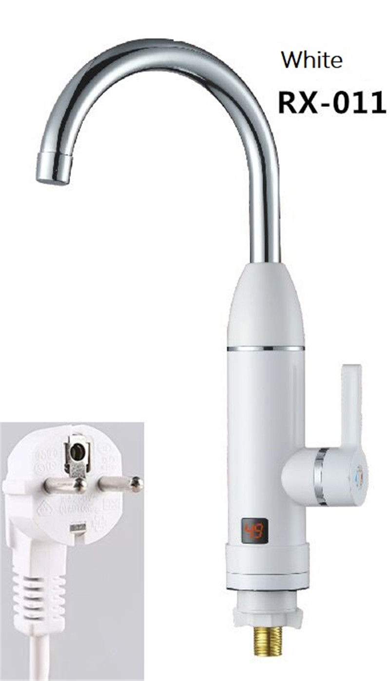 RX-011W,Digital Display Instant Hot Water Tap,Fast Electric Heating Water Tap,Inetant Electric Heating Water Faucet