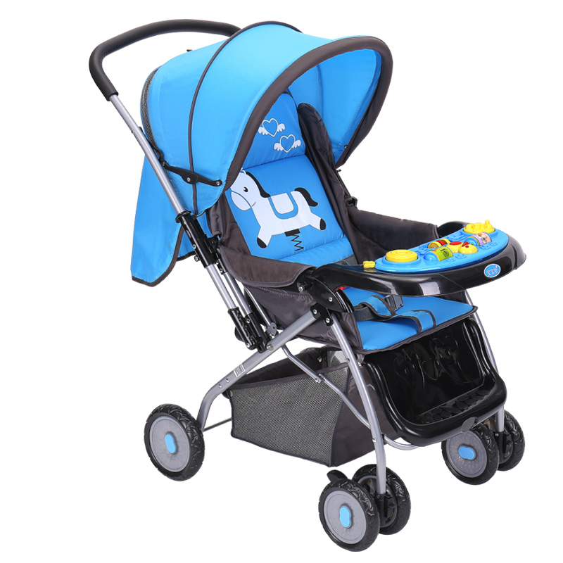 New arrives baby stroller high landscape music baby pram for Mercedes benz baby pram