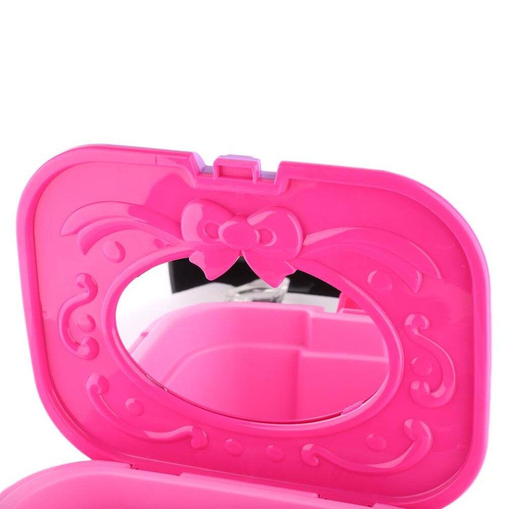 Лидер продаж! Портативный Размеры маленьких Обувь для девочек Детская мини стул комод стол Игрушечные лошадки развивающие подарки на день ...