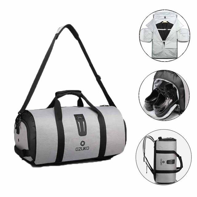 OZUKO 9209 Мужской Дорожный Чехол для одежды, Женская вещевая сумка, подвесной чемодан, одежда, деловой Рюкзак, Сумка с несколькими карманами
