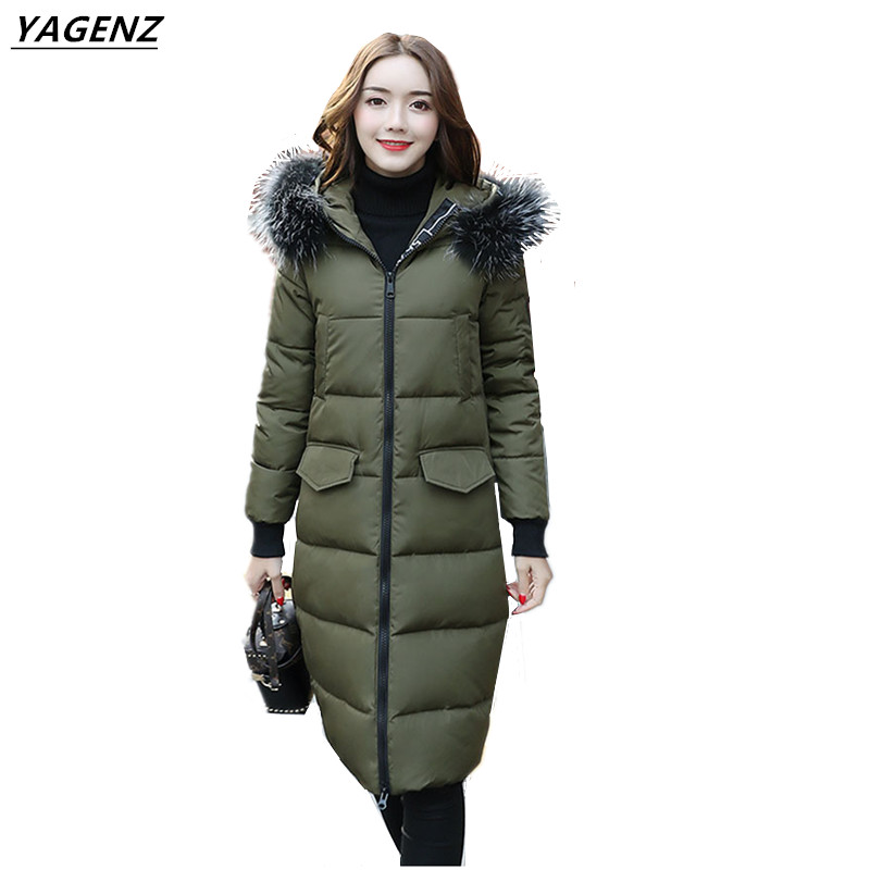 Women Winter Coats 2017 New Winter Women Thick Outerwear Medium Length Warm High Quality Coats Hot Sale Winter Collection YAGENZ top brand luxury digital watch waterproof military altimeter barometer compass sport watch man clock men hours relogio masculino