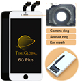 5 PCS 100% novo alibaba china clone LCD de Pixel Não Morto para iphone 6 plus display com touch digitalizador substituição grátis grátis