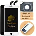 5 UNIDS 100% nuevo Sin Píxeles Muertos alibaba china clon LCD para iphone 6 plus pantalla táctil digitalizador con reemplazo gratuito gratis