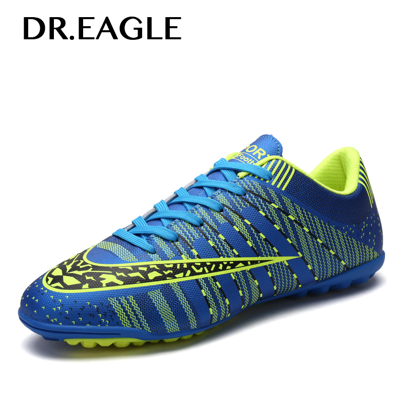 DREAGLE TF Indoor Soccer Cleats Shoes Men Turf Centipede Football Soccer Shoe Training Superfly Futbol Sport Shoes Sneakers