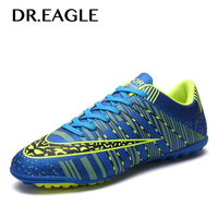 DREAGLE TF indoor soccer cleats shoes men Turf centipede football soccer shoe training superfly futbol Sport Shoes Sneakers|Soccer Shoes| |  -