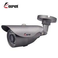 Opiekun AHD Analogowe Wysokiej Rozdzielczości Kamera Nadzorująca 2500TVL Bezpieczeństwo Wodoodporna Kamera 2.0MP 1080 P AHD noc wersja
