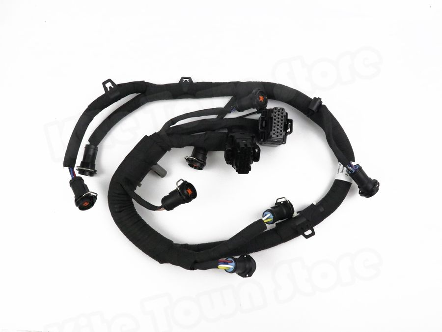 ficm fuel injector module wiring harness for ford 6.0l ... ford 6 0 injector harness diagram ford 6 0 powerstroke wiring diagram