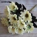 Осенняя искусственная Весенняя Маргаритка, искусственный цветок, Европейский Букет для свадьбы, украшение для дома, цветы стола, гортензия