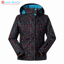 Newest High Quality Outdoor Brand Waterproof Windproof Women Ski Jacket Winter Sports Coats For Skiing Camping