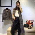 Arlene sain custom womenThe autumn of 2016 the new aristocratic wind hand weaving ribbon vest coat process