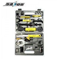 SAHOO 44 In 1 MTB Bike Bicycle Repair Tool Set Kit Case Box For Mountain Road