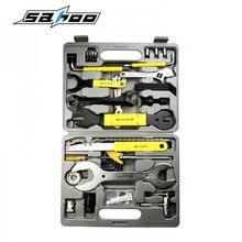 SAHOO Professional 44 inn 1 MTB Bike Bicycle Repair Tool Set Case Box Spoke Wrench Kit For Mountain Road Bicycle Accessories