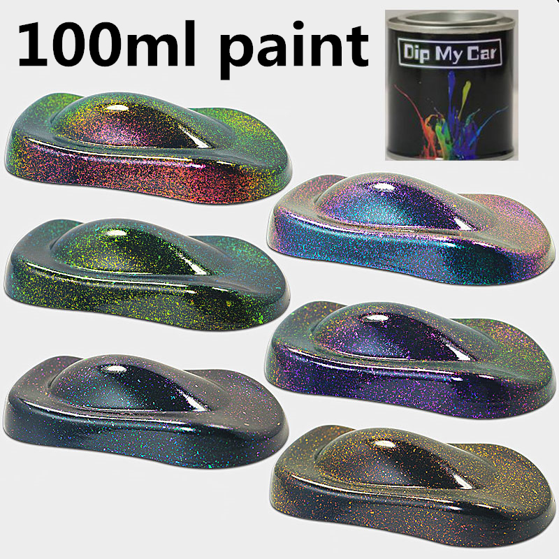 100ml Liquid Crystal Chameleon Special Effect Paint Crystal Change Paint Car Color Change Metal Paint Super Color Paint