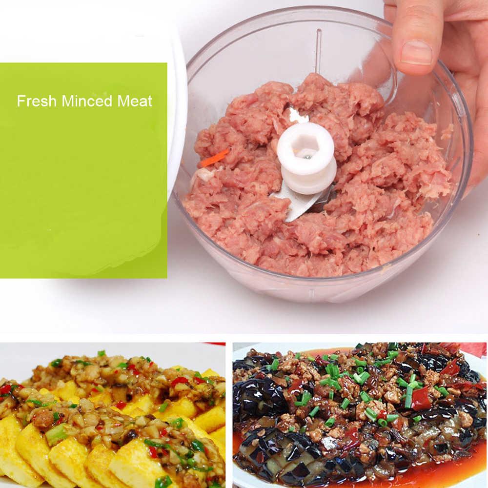 Multifunções Cortador de Legumes Chopper Mão Spiral Slicer Fruit Shredder Triturador Ralador Fatiador de Carne Manual Moedor de Alimentos