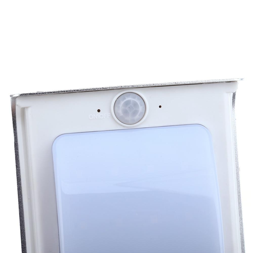 2pcs/set Solar Motion Light 16 Leds Led Induction Street Light Outdoor Lighting Solar Lamps Saving Infrared Sensor Wall Lamp