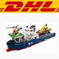 2017 New LEPIN 20034 1347Pcs Technic Series Ocean Explorer Model Building Kits Blocks Bricks Compatible Children Toys Gift 42064