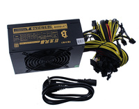 New 1800W Mining Power Supply PSU 24pin For Bitcoin Miner R9 380/390 RX 470/480 RX 570 1060 For Antminer A6 A7 S5 S7 B3 C9 D3 E9