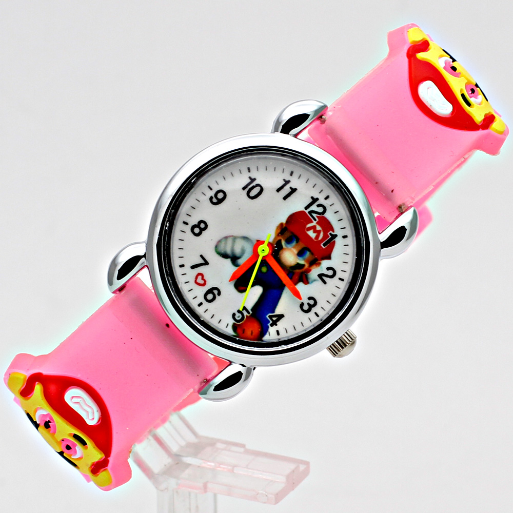 3D-silikon Cartoon Watch WristWatch Barn Sport Watch Fashion Boys - Barnklockor - Foto 5