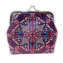 Fashion Coin PurseWomen's Print Coin Purse Money Bag Change Card Holders Small Wallet Clutch Purse monederos para mujer A50