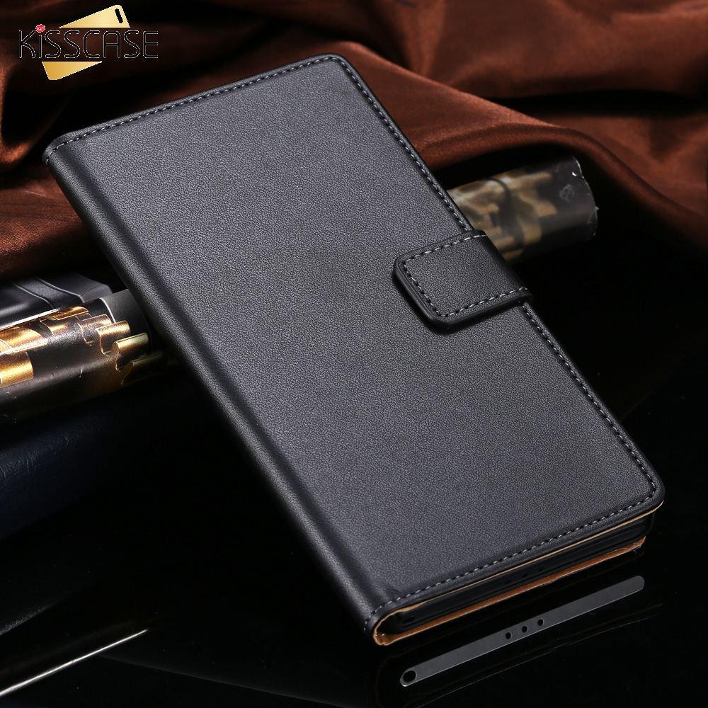 KISSCASE Wallet With Stand Leather Case For Sony Xperia Z2 C