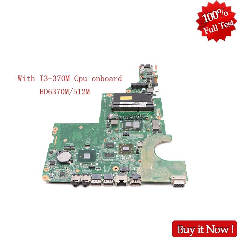 Nokotion 637584 001 Main board For HP G42 CQ42 G62 CQ62 DAXX1JMB8C0 Laptop motherboard With I3