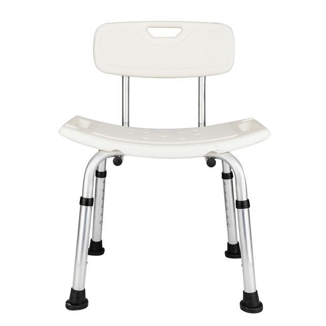 Aluminum Alloy Adjustable Height Medical Transfer Bench Bathtub