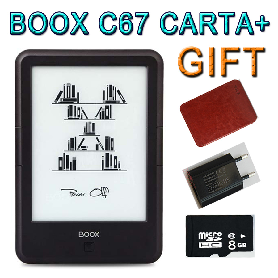 New Model ONYX BOOX C67ML CARTA+ Ebook Reader Capacitive Touch Eink Screen E Book Reader e-ink Android 8g WIFI Front Glowlight