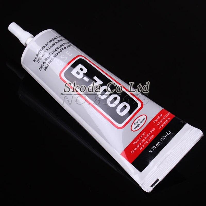 Free shipping 110ML B-7000 Multi-purpose Adhesives rhinestone glue For Mobile Phone Repair DIY Epoxy Tools
