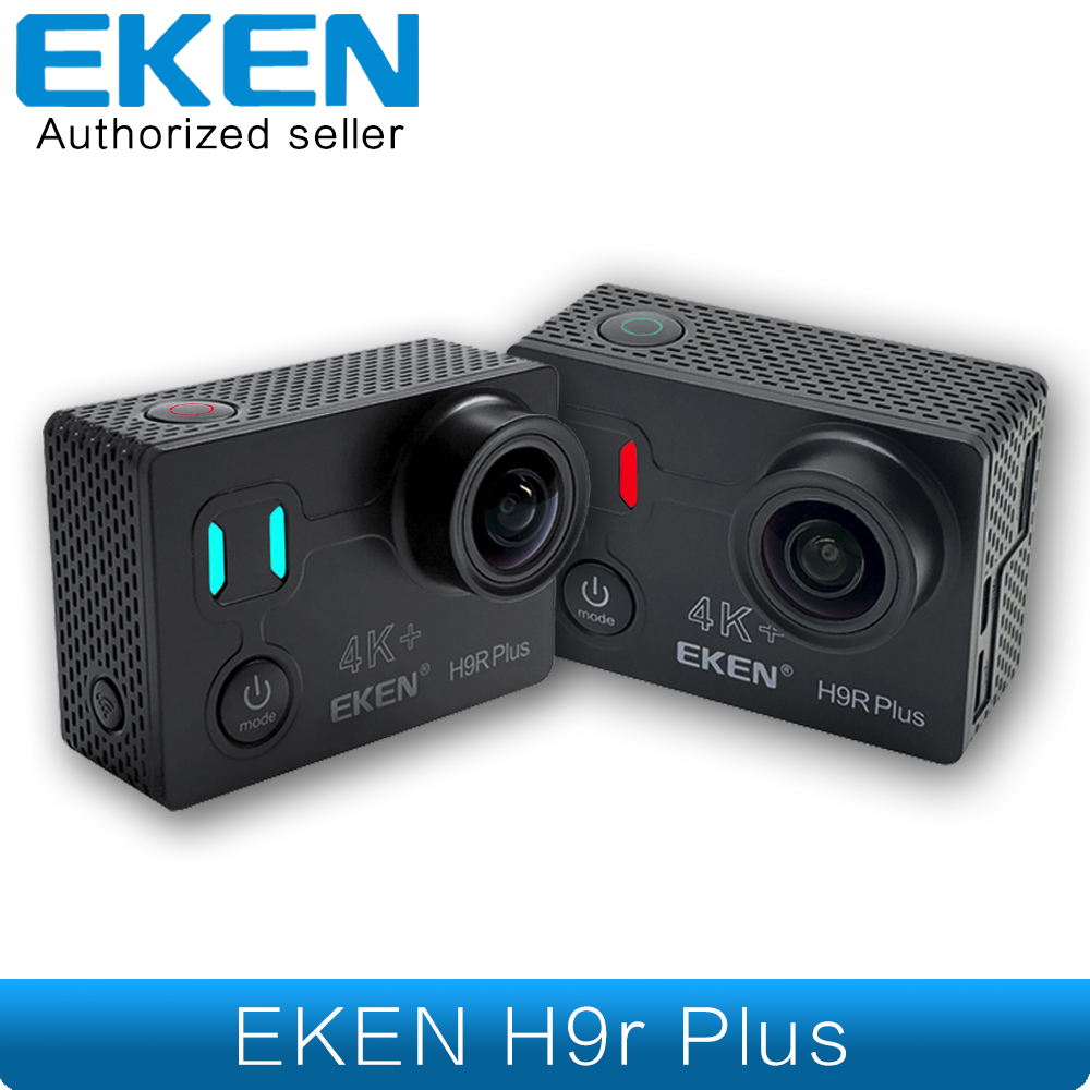 Original EKEN H9R Plus Ambarella Chipset Ultra HD Real 4K+ 30fps 14MP For Panasonic 34112 Underwater Waterproof Action Camera