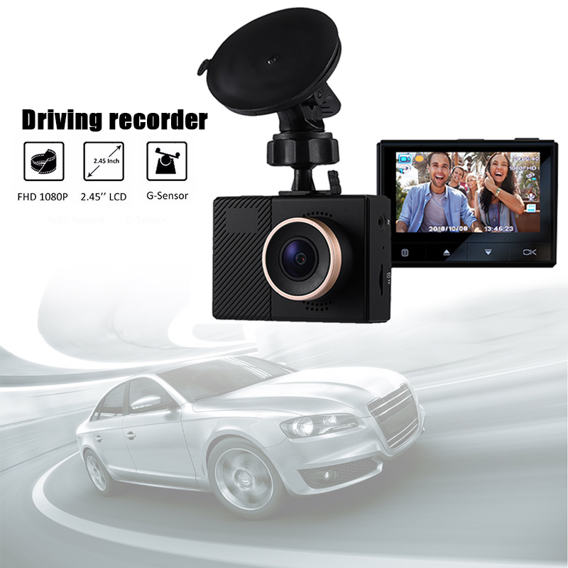 <font><b>Car</b></font> DVR Dash Camera G70+ 1080P Full HD Auto <font><b>Register</b></font> <font><b>Car</b></font> Video Recorder Wifi Camera <font><b>Car</b></font> DVR Novatek Chips 140 Degree Wide Angle image
