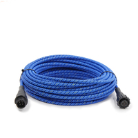 Free shipping 7.5M/15M Leak detection line 4 core high sensitivity positioning detection cable Water immersion induction wire