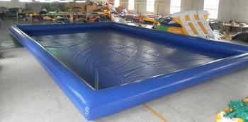 Gorący basen nadmuchiwany zbiornik pcv tanie i dobre opinie CN (pochodzenie) 3 lat Woda spaceru piłkę Pływanie bloku startowym blue yellow green orange pvc 0 6mm tarpaulin customised