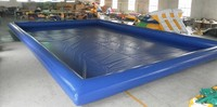 hot swimming pool pvc inflatable tank