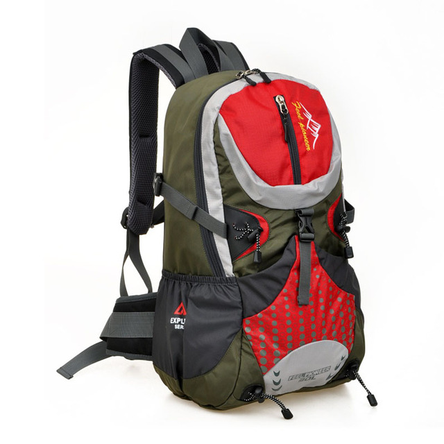 0a967b69b7 30 L Outdoor Hiking Backpacks Sports Bag Travel Bags Men Waterproof Trekking  Bag Women Camping Bags Men Travel Fishing Backpacks
