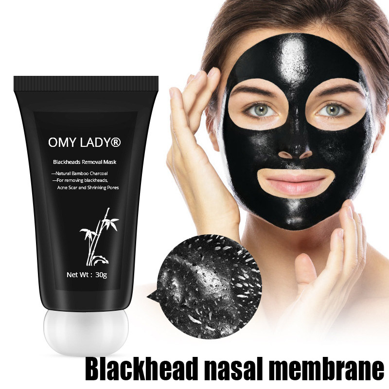 Men Women Face Care Blackhead Remove Face Mask Bamboo Charcoal Peel Off 30g Beauty Tools Accessories ---MS