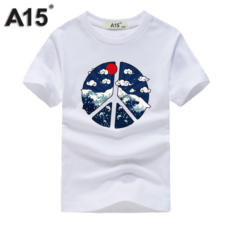 100% QualitäT A15 T-shirt 3d Kinder T-shirt Karikatur Gedruckt Sommer T-shirt Für Mädchen Kinder 2018 Teenager Jungen Baumwolle Kurze T 8 10 12 14 Jahr Hindernis Entfernen