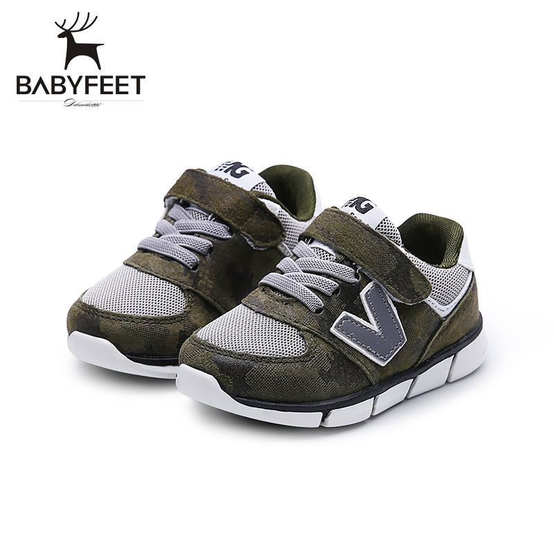 New Babyfeet Toddler Infant First Walkers Baby Boy Girl Shoe Soft Sole Sneaker Newborn Prewalker Shoes