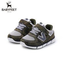 New Babyfeet Toddler Infant First Walkers Baby Boy Girl Shoe Soft Sole Sneaker Newborn Prewalker Shoes Summer Genuine Leather
