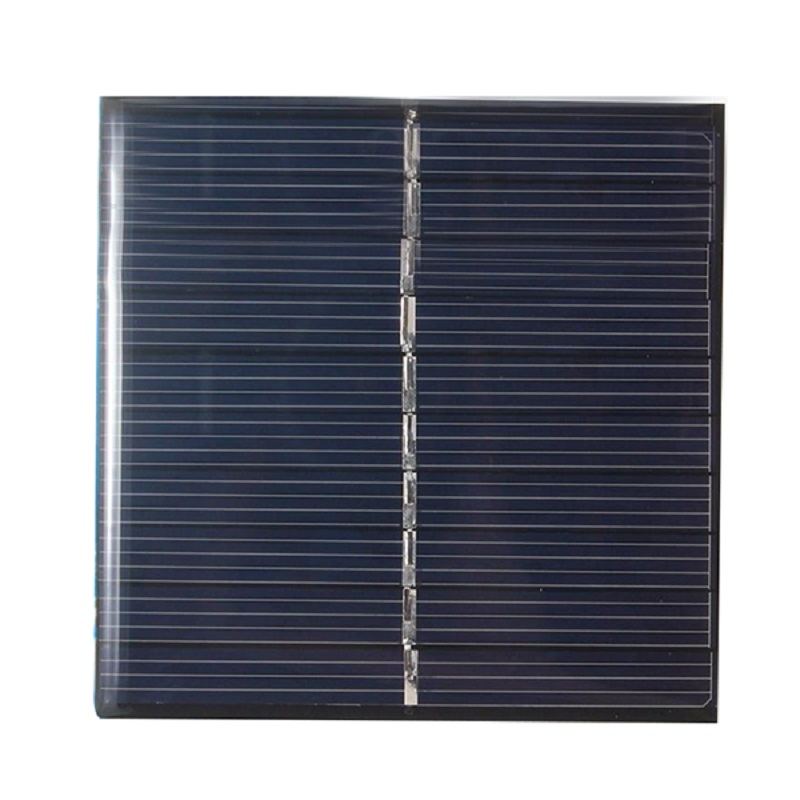 Solar Panel Mini DIY Module System for Cells Phone Charger Solar Pan DIY Type 5V 0.8W high efficiency output black