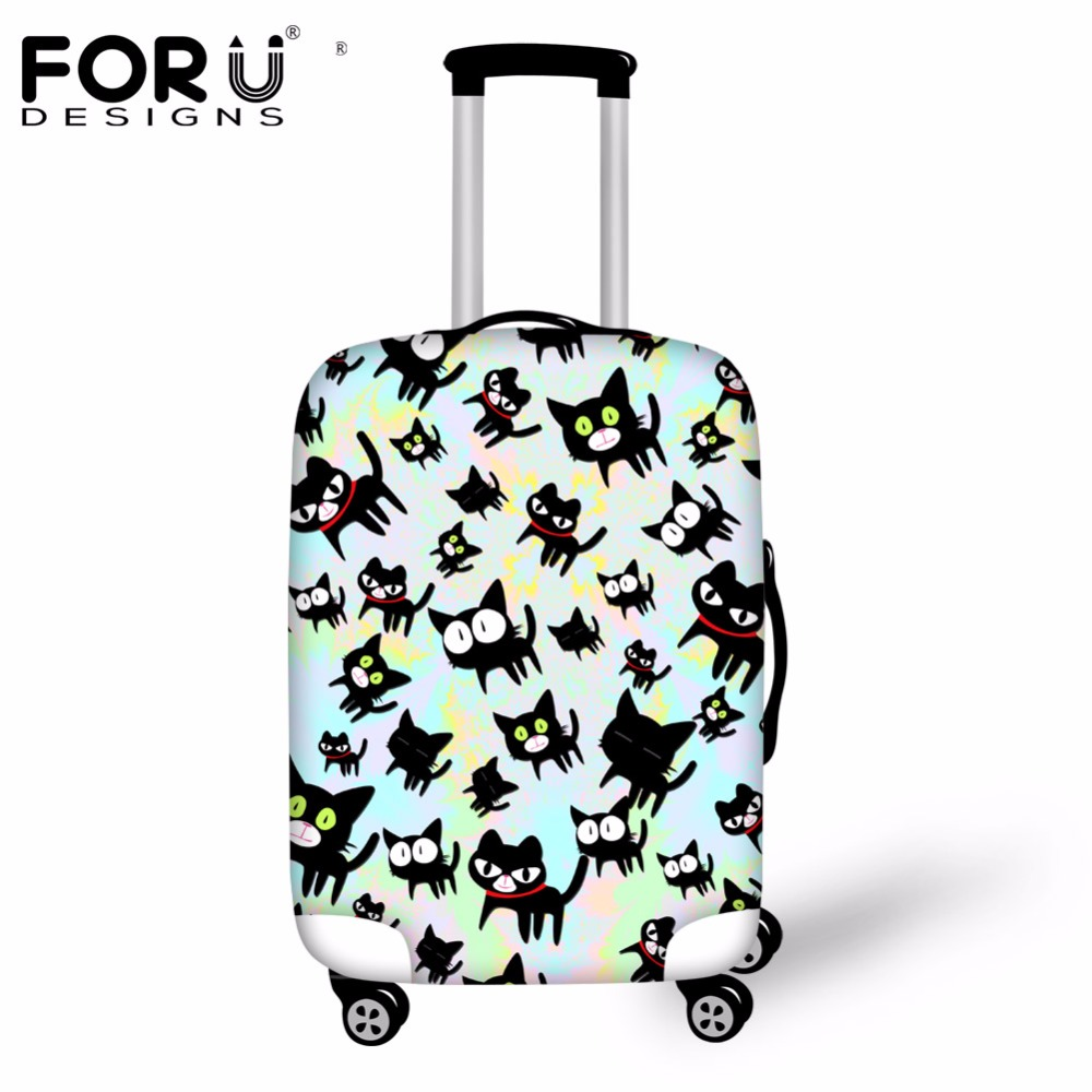 FORUDESIGNS Travel Accessories Spandex Waterproof Dust Rain Cover Luggage Cover Protector For ''18-30'' Suitcase Case Rain Cover