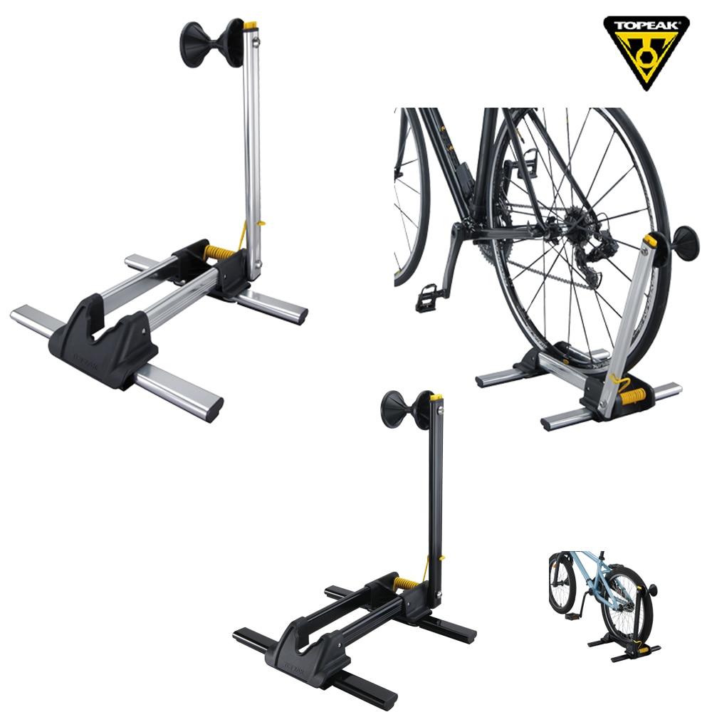 Topeak TW014 LineUp Bike Stand Bicycle Display Stands Cycling Parking Racks Stand Holder Bike Storage Rack Tubular Folding Stand