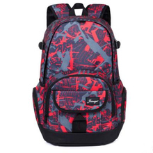 New Camouflage Large-capacity Polyester Material Big Bag Japan and South Korea Canvas Backpack Picking Side Male Cute