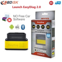 Original Launch X431 EasyDiag2.0 Diagnostic Tool Easydiag 2.0 for Android/iOS Bluetooth OBDII Scanner Update Online Free Ship