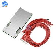 BMS 20S 72V 45A/80A 18650 płyta zabezpieczająca baterię litową bateria PCB aktywna ładowarka z balanserem zasilanie ładowanie